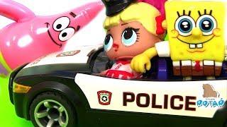 Куклы ЛОЛ моя коллекция #Губка Боб в стране ЛОЛ! Питомцы и Сестрёнки ЛОЛ! My Toys POTAP