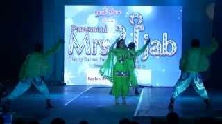 Skoda Vicho Fire Song Live Performace By Sukhdeep Grewal at Mrs Punjab 2013