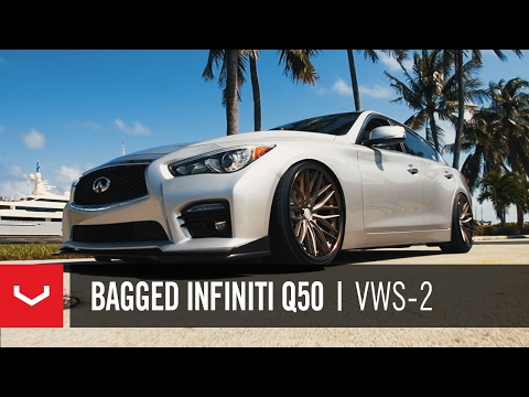 "Infiniti Q50 S | ""South Florida Cruising"" | Vossen x Work VWS-2"
