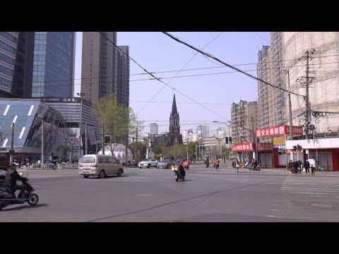 【4k】上海-漫步-淮安路-海防路-余姚路-街景/shanghai-stroll-huai'an-road-haifang-road-yuyao-road-street-view