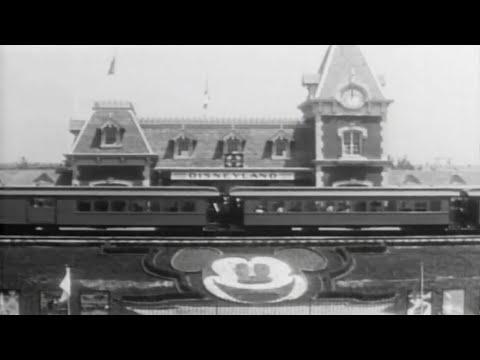 Vintage Disneyland Opening Day Footage July 17 1955 Celebration