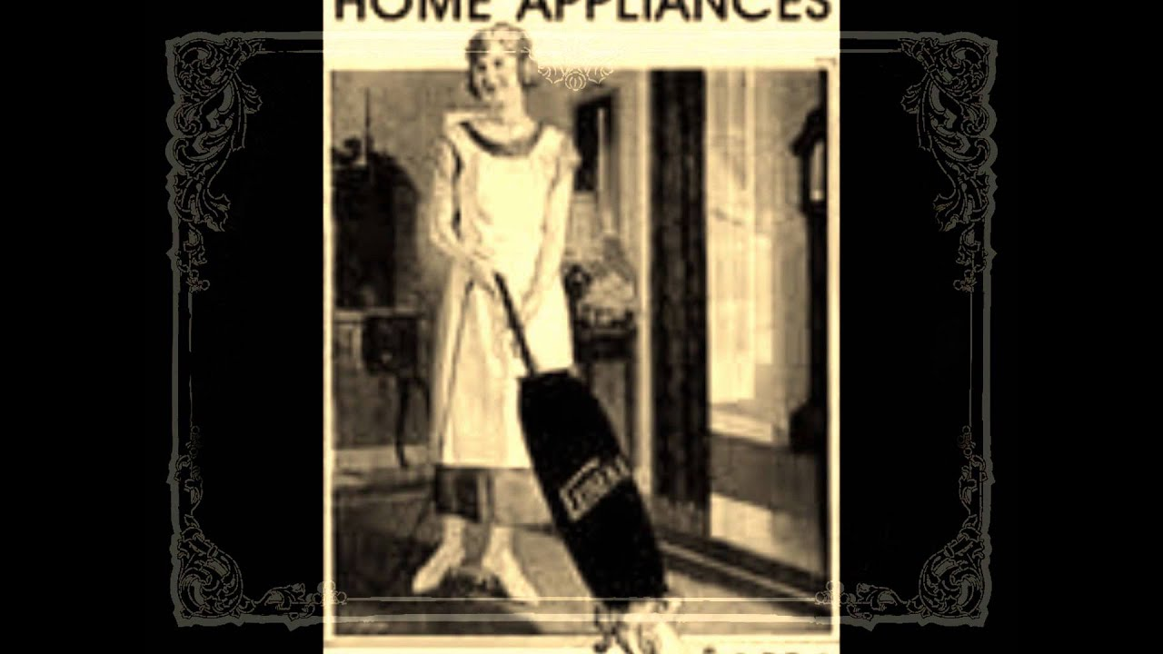 History Of Kitchen Appliances Appliances Of The 1920s History Project Youtube