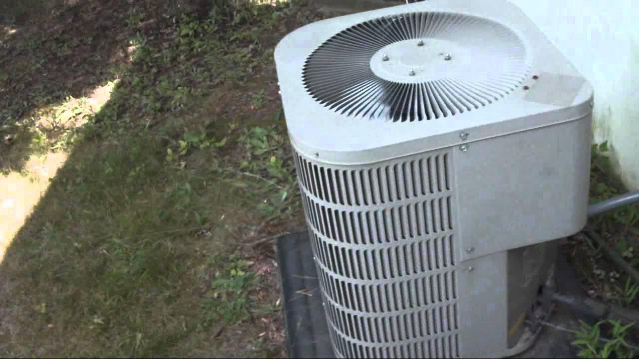 2002 Goodman 2 Ton Air Conditioner Startup Shutdown And A