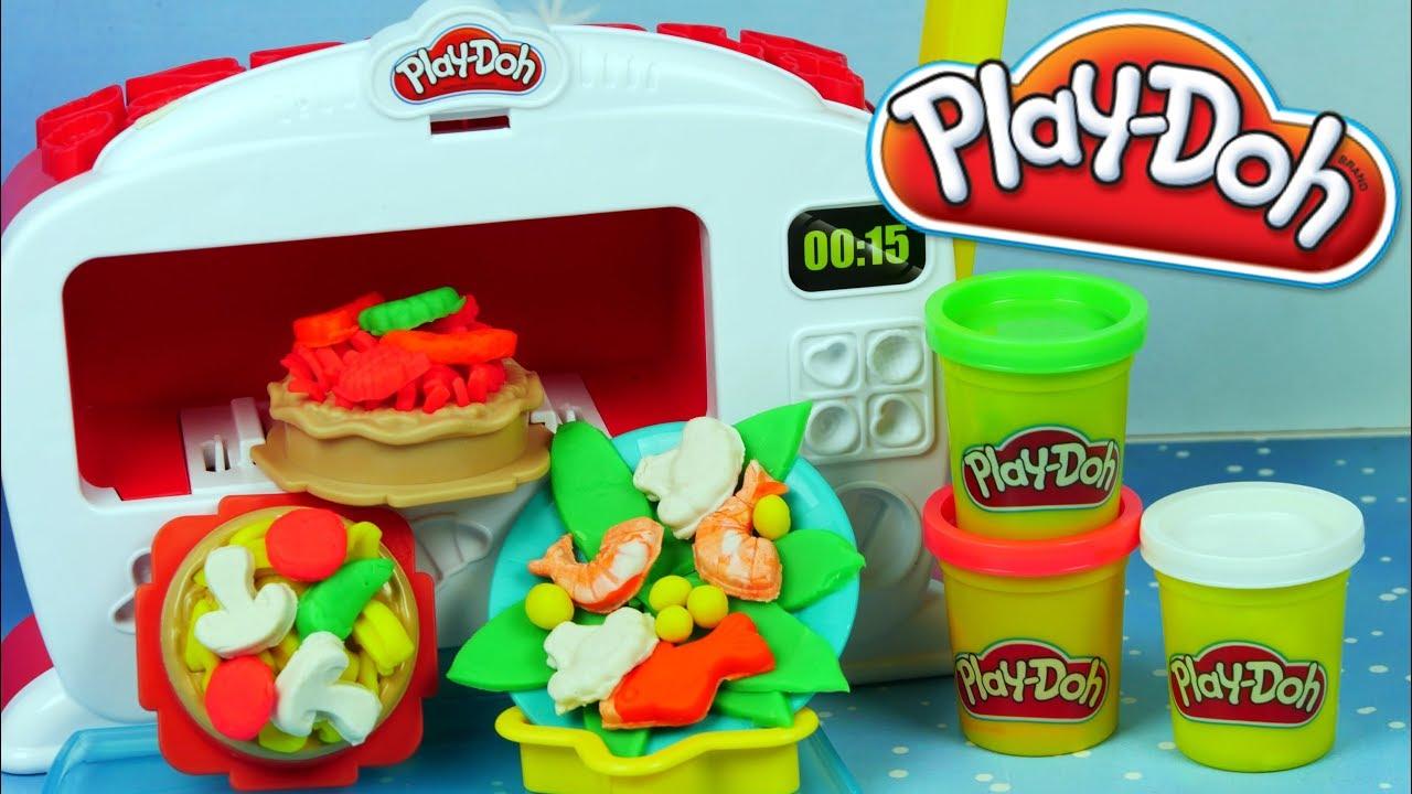 Play Doh Kuchnia Magiczny Piekarnik Gorące Wypieki Kreatywne Zabawki