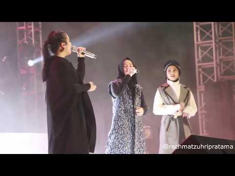 Nissa Sabyan Feat Gita Gutawa & Ayu Idol - Atouna El Toufoule (Live Konser Indonesia Sejuk)