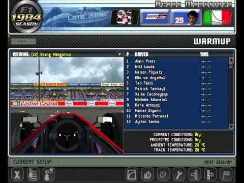qualifying results 1984 Monza Gran Premio D