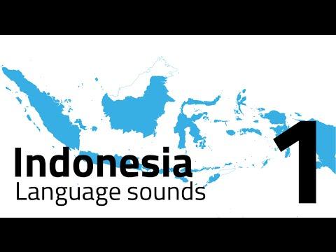 Indonesia Language Sound - Part 1