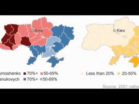 Ukraine In Maps: How The Crisis Spread