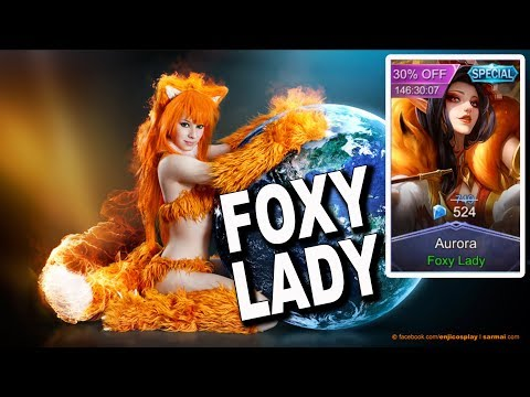 GUE SIH NGILER LIATNYA... - REVIEW SKIN BARU AURORA FOXY LADY