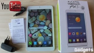 Alcatel Pixi 8 9005X Обзор планшета+Тест игр