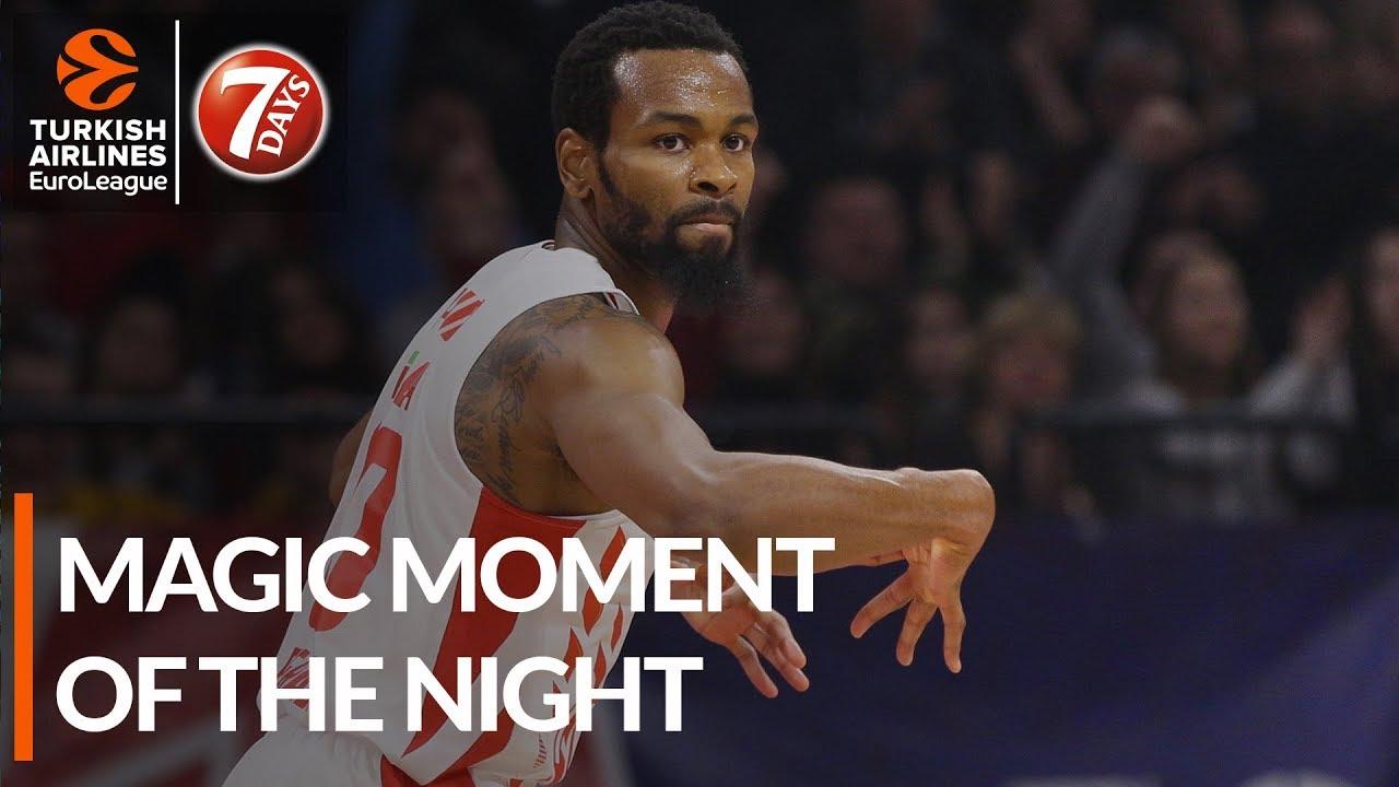 Magic Moment of the Night: Kevin Punter, Crvena Zvezda mts Belgrade
