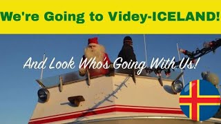 Santa's Spotted Going with us to Videy Island, Iceland!!