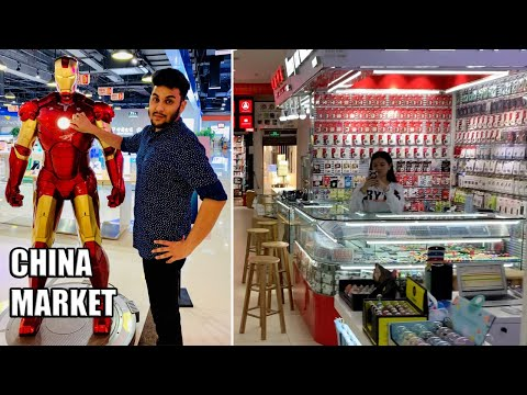 Buying VERY CHEAP Electronics: China Electronics Market VLOG!