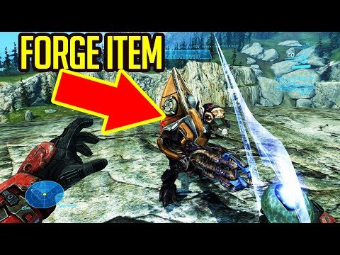 AI IN FORGE ON HALO REACH PC, ALL ARMOR UNLOCK, FLYABLE PELICAN + INSTALL GUIDE