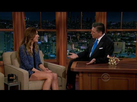 Late Late Show with Craig Ferguson 9/27/2012 Anne Heche, Jennifer Carpenter