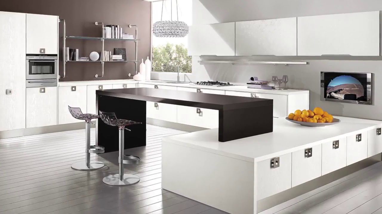 Cucina moderna Lube modello Nilde. - YouTube