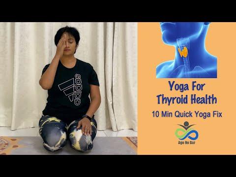 Yoga For Thyroid | Exercise For Thyroid | 10 Min Quick Yoga Fix | 7 Step Yoga Sequence Thyroid