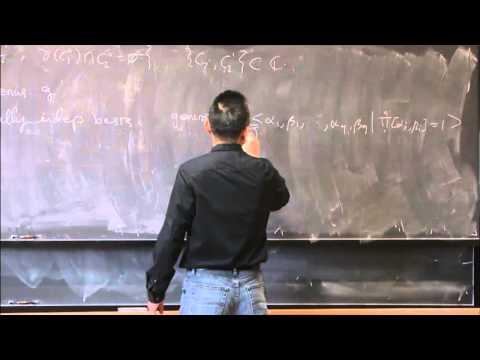 Hausdorff dimension of Kleinian group uniformization of Riemann surface... - Yong Hou