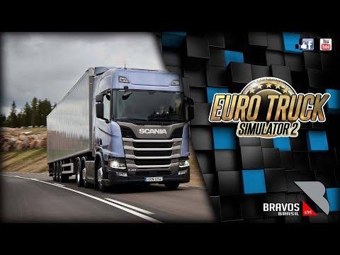 🔴► AO VIVO Euro Truck Simulator 2 # 100 heavy cargo pack