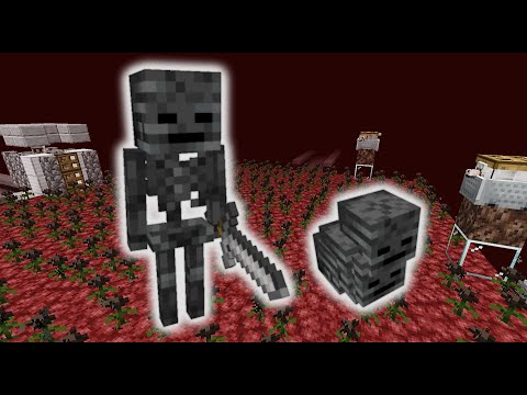 easy-automatic-afk-wither-skeleton-farm!- -1.14+-minecraft