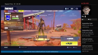 Playing Fortnite Against Ninja!!! 1000 v-buck giveaway!!
