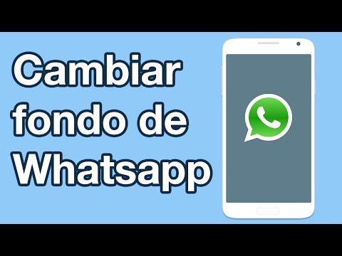 C�mo cambiar fondo de pantalla de Whatsapp y poner cualquier imagen