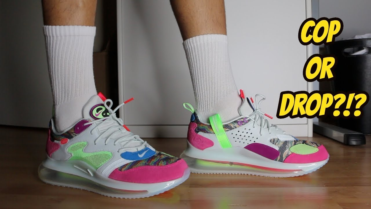 "On Foot: OBJ x Nike Air Max 720 ""Young King of the Drip"
