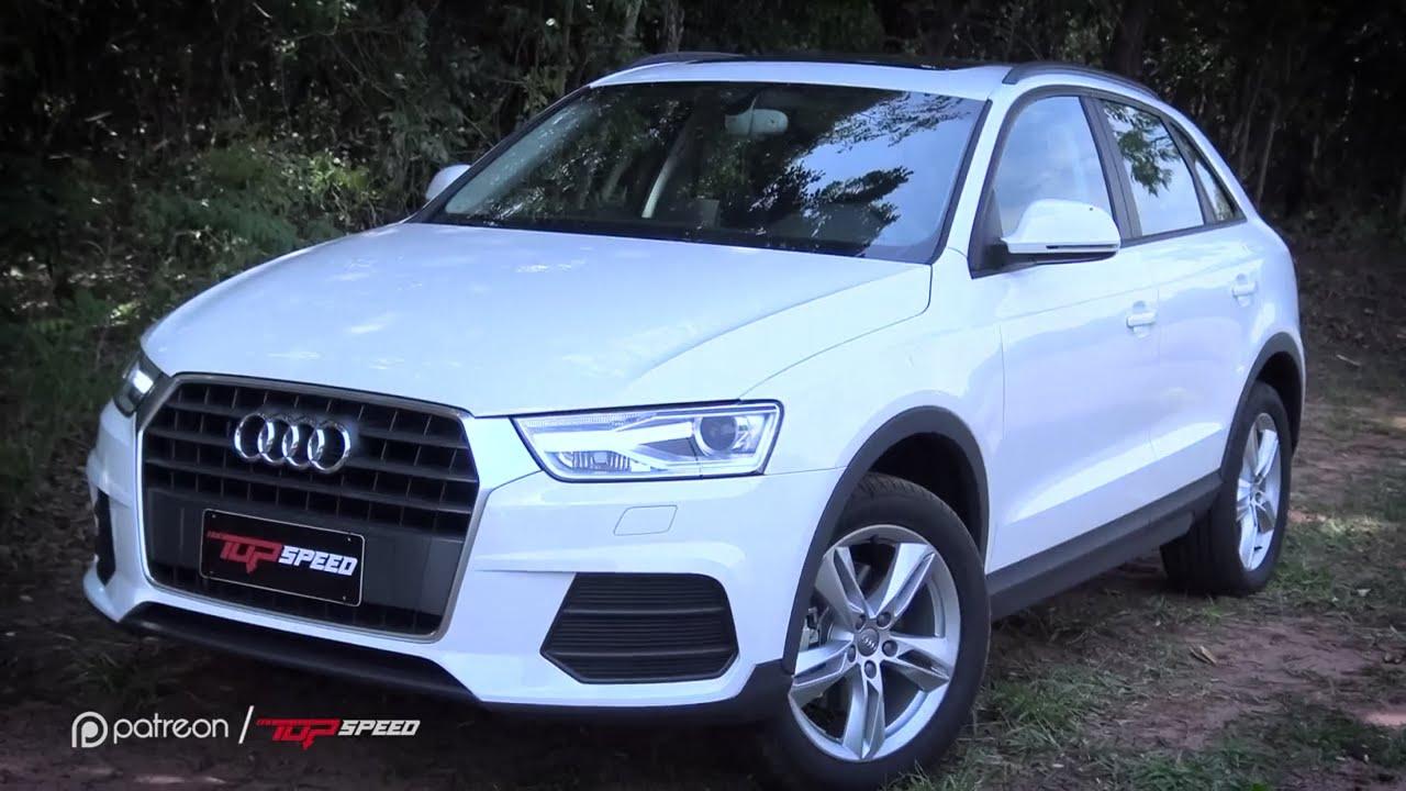 Avaliação Audi Q3 1.4 TFSI | Canal Top Speed - YouTube