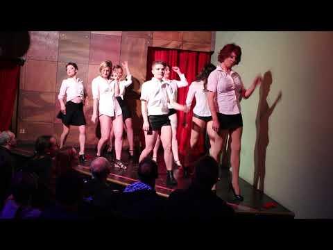 Rose City School of Burlesque Group Routine Set B