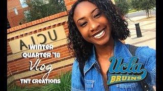 A Day in my Life at UCLA | Winter Quarter '18