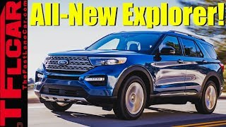 Breaking News: 2020 Ford Explorer Revealed Packing Turbos and a Big Screen!