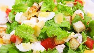 Салат цезарь рецепты