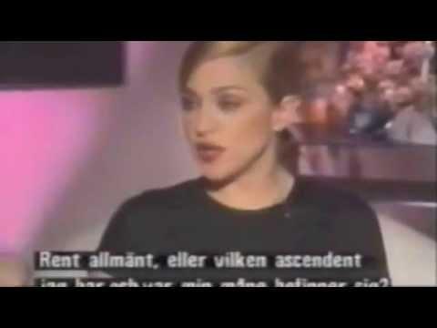 Madonna talks Astrology