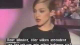 Madonna talks Astrology