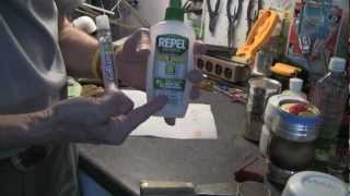 Picaridin or DEET - my preferred bug repellent & refilling a pump spray tube