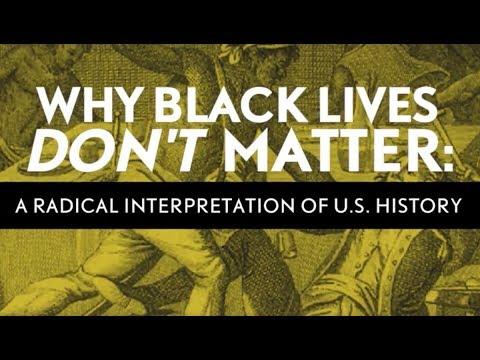 Why Black Lives Don't Matter: Q & A Session
