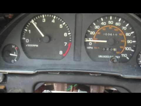 Фото к видео: Toyota Tercel 3E-TE Idle