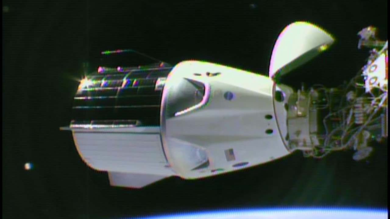 SpaceX Demo1 Crew Dragon Docking to ISS Part 2 YouTube