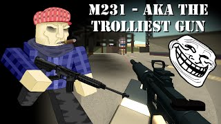 [ROBLOX] Phantom Forces: M231 - THE TROLLIEST?