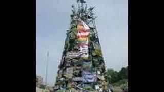 Покойник висел на главной ёлке  Украины