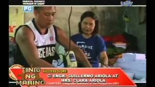 Success Story of  C/Engr. Guillermo Ariola:  From humble seaman to successful businessman