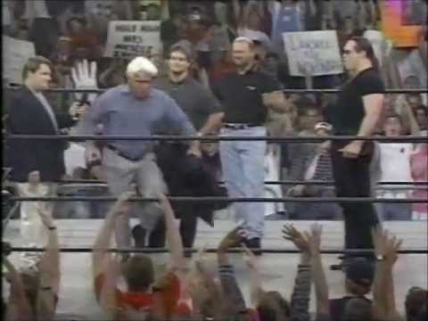 WCW Thunder 9-24-98 Stevie Ray, Horseman Interview