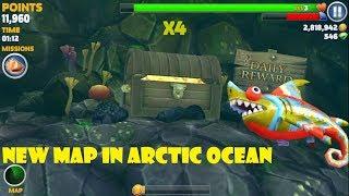 New Map in Arctic Ocean update (Sharkeleon) - Hungry Shark Evolution