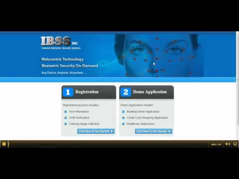 Internet Biometric Security System