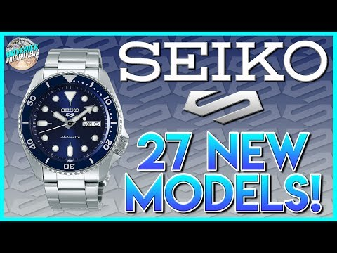 27 Brand New Seiko 5 Models!   I Take A Look At Most Of Them And Give You My Thoughts!