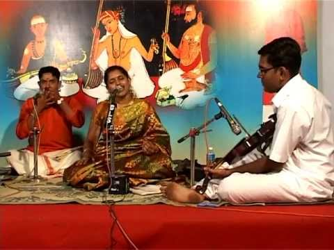 Indian Classical Music Bhogindra Sayinam Kodampally Sreeranjini Pradeep - Swati Thirunal Kriti