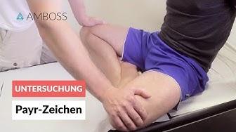 Payr-Zeichen - Orthopädie - klinische Untersuchung - AMBOSS Video