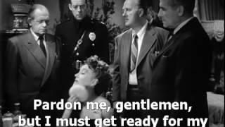 Sunset Boulevard 1950 final scene