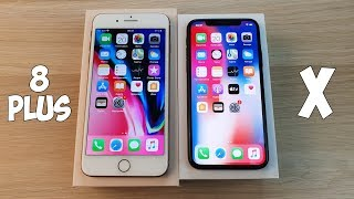 IPHONE 8 PLUS VS IPHONE X - ОДНО И ТОЖЕ ЖЕЛЕЗО, НО В РАЗНЫХ КОРПУСАХ!