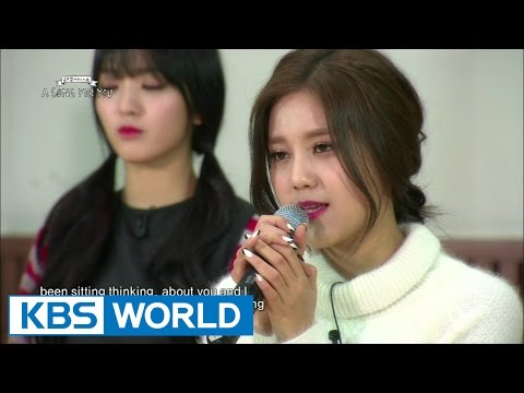 Global Request Show : A Song For You 3 -  fallin' out by AOA